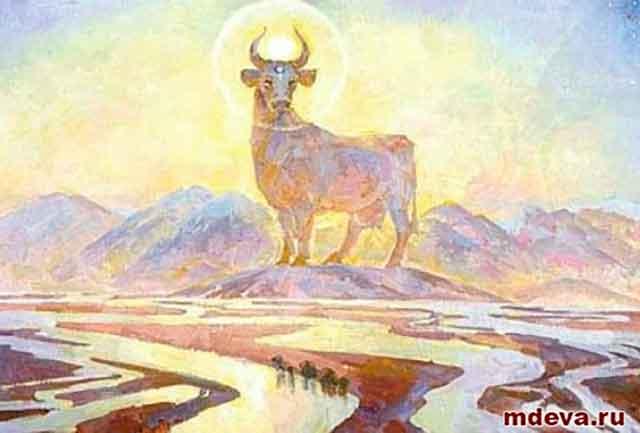 Почитание Коровы(Го) — у древних славян!