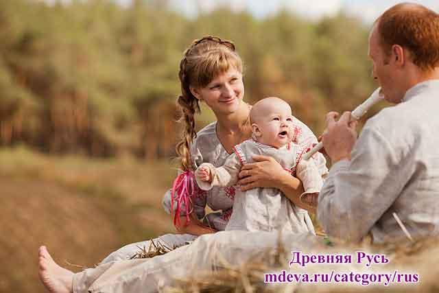 Беременность. Славянские традиции родов