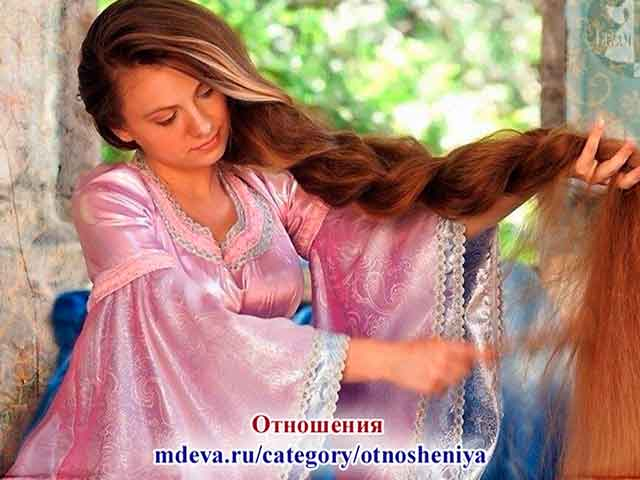Волосы — связь с Богами