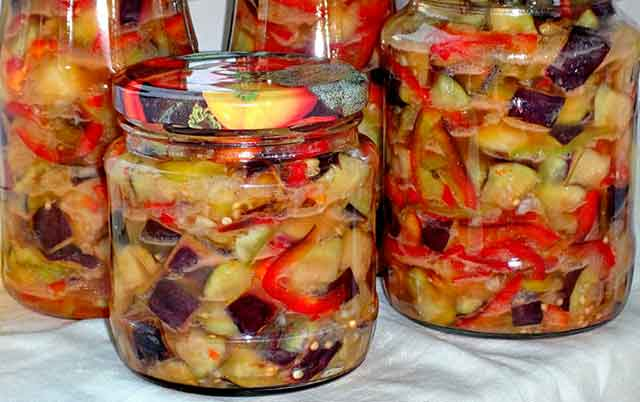 Вкусные простые рецепты заготовки баклажан на зиму,пальчики оближешь