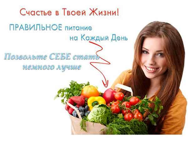 Лучшая косметика - Правильное питание